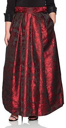 Jessica Howard JessicaHoward Women's Plus Size Separate Ballgown Skirt