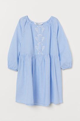 H&M Cotton Dress - Blue