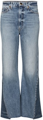 KHAITE Layla high-rise flared jeans
