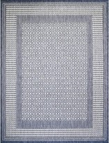 Satter Navy Indoor/Outdoor Area Rug Charlton Home Rug Size: Rectangle 4' x 6'