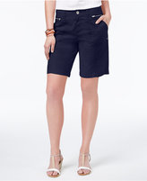 Style&Co. Style & Co Petite Zip-Detail Shorts, Only at Macy's