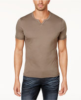 INC International Concepts Men's Soft Touch Split-Neck T-Shirt, Created for Macy's