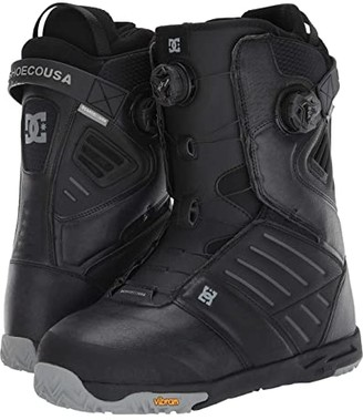 DC Judge Dual BOA(r) Snowboard Boots (Black) Men's Snow Shoes