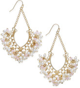 INC International Concepts Catherine Stein for Gold-Tone Imitation Pearl Multi-Bead Chandelier Earrings, Only at Macy's