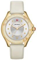 Michele Women's Cape Silicone Strap Watch, 40Mm