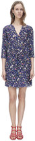 Rebecca Taylor Long Sleeve Tapestry Garden Dress