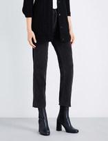Current/Elliott The Original straight cotton corduroy trousers