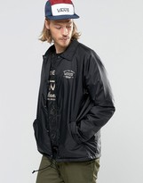 Vans Torrey Coach Jacket In Black V002mublk