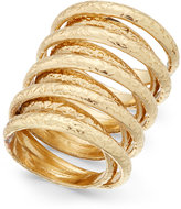 INC International Concepts Gold-Tone Multi-Layer Wrap Ring, Only at Macy's