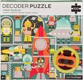Factory Petit Collage Robot 100-Piece Decoder Puzzle Set