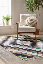 Urban Outfitters Woven Diamond Kilim Rug