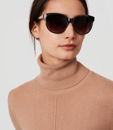 LOFT Oversized Cateye Sunglasses