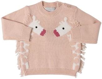 Stella McCartney Organic Cotton Tricot Knit Sweater