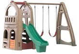 Step2 Step 2 Naturally Playful Playhouse with Slide & Swing
