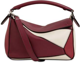 Loewe Small Puzzle Leather Color Block Bag