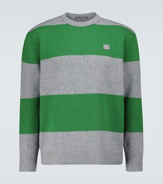 Acne Studios Nimah colorblocked striped sweater