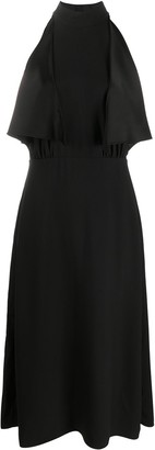 Prada Ruffled Halterneck Dress