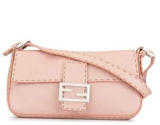 Fendi Pre-Owned Selleria stitch trim handbag