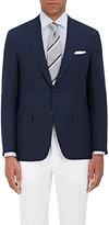 Canali Men's Piqué-Weave Wool Two-Button Sportcoat