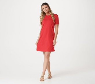 Denim & Co. Regular French Terry Short-Sleeve Dress