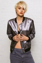American Eagle Outfitters Don't Ask Why Metallic Bomber