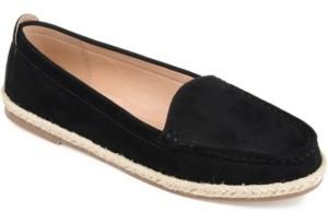 Journee Collection Women's Comfort Foam Cinndy Espadrille Flat Women's Shoes