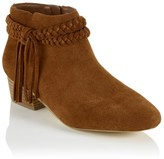 Faith Plait Tassel Ankle Boots