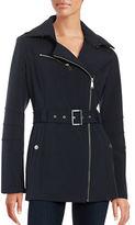 BCBGeneration Asymmetric Zip Softshell Jacket