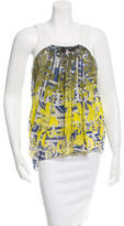 Matthew Williamson Embellished Silk Top w/ Tags