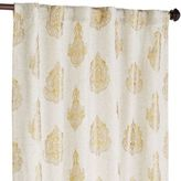 "Pier 1 Imports Rambagh Paisley Gold 84"" Curtain"