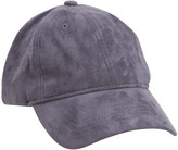 Faux Suede Adjustable Hat