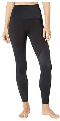 Beyond Yoga Line Of The Times High Waisted Midi Leggings (Black) Women's Casual Pants
