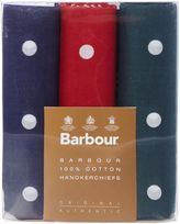 Barbour Spot Handkerchief Boxed Gift Set