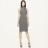 Ralph Lauren Black Label Tie-Neck Cashmere Dress