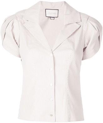Alexis Kirstie puff shoulder shirt