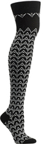 Ozone Women's Chevron of Spades Over the Knee Socks