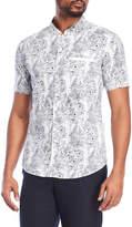 Soul Star Floral Short Sleeve Shirt