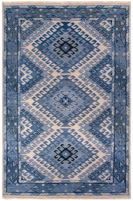 Jaipur Rugs Tribal Pattern Hand-Knotted Rug