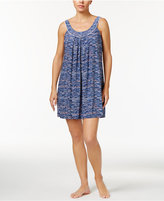 Alfani U-Neck Dotted Chemise, Only at Macy's