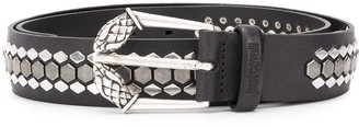 Just Cavalli Stud Embellished Belt