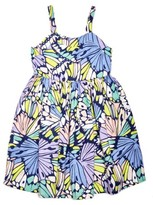 Margherita Toddler Girl's Hail Butterfly Print Dress
