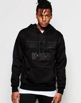 Boy London Hooded Sweatshirt With Applique
