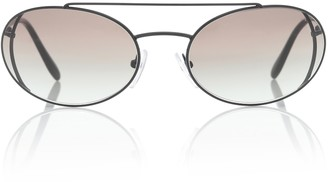 Prada Catwalk oval sunglasses