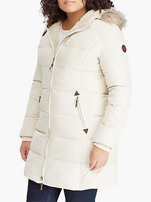 Ralph Lauren Ralph Curve Hooded Quilted Jacket