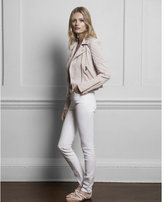Express edition white high rise ankle jean legging
