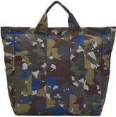 Paul Smith Multicolor Camouflage Tote