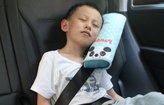 SuPoo Children Car Soft Seat Belt Shoulder Pad Pillow Headrest Support Pillow (Blue)