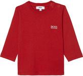BOSS Classic logo cotton t-shirt 6-36 months
