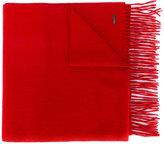 DSQUARED2 tassel-trimmed scarf - men - Angora/Virgin Wool/Cashgora - One Size