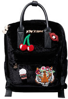 Betsey Johnson Tigers And Cherries And Lips Oh My Backpack